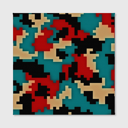 Холст квадратный  Фото 02, Camouflage