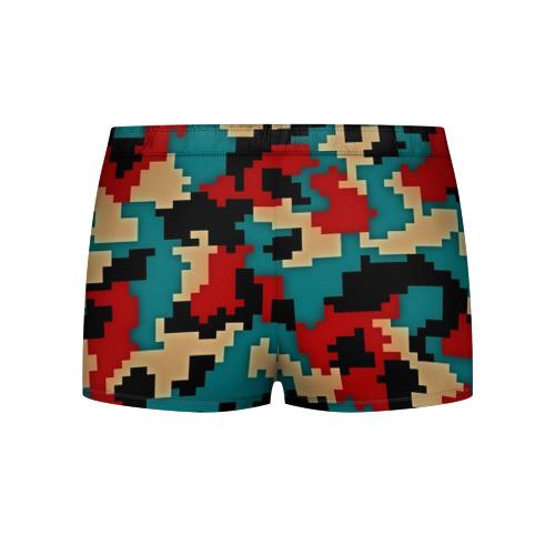 Мужские трусы 3D  Фото 02, Camouflage
