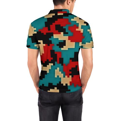 Мужская рубашка поло 3D  Фото 04, Camouflage