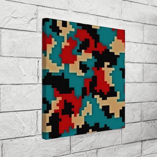 Холст квадратный  Фото 03, Camouflage