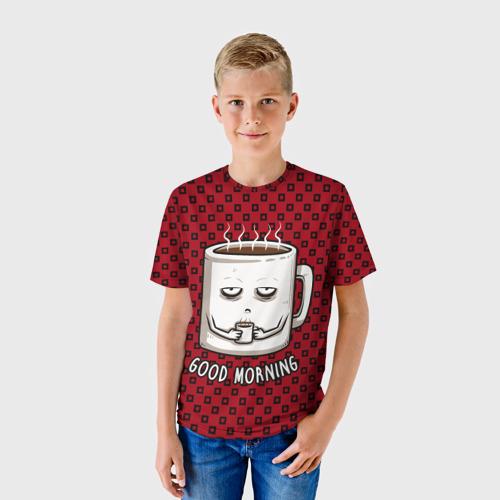 Детская футболка 3D Good Morning