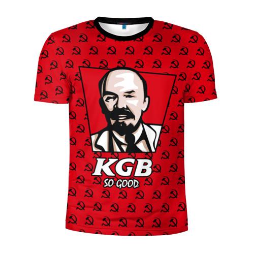 Мужская футболка 3D спортивная KGB So Good