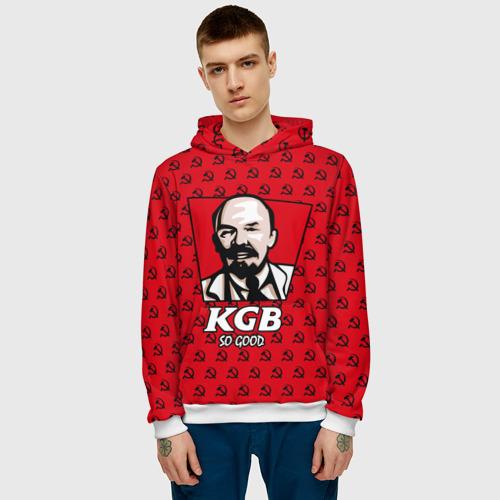 Мужская толстовка 3D  Фото 03, KGB So Good