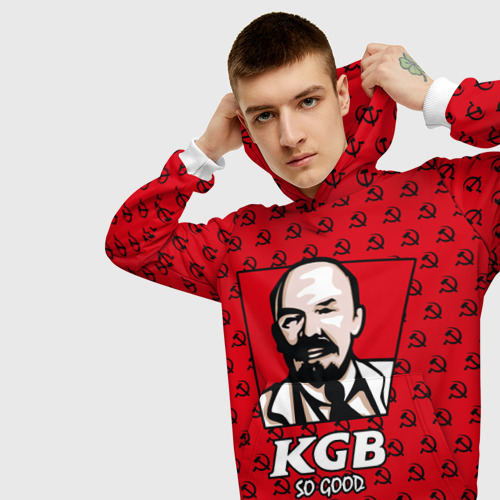 Мужская толстовка 3D  Фото 01, KGB So Good