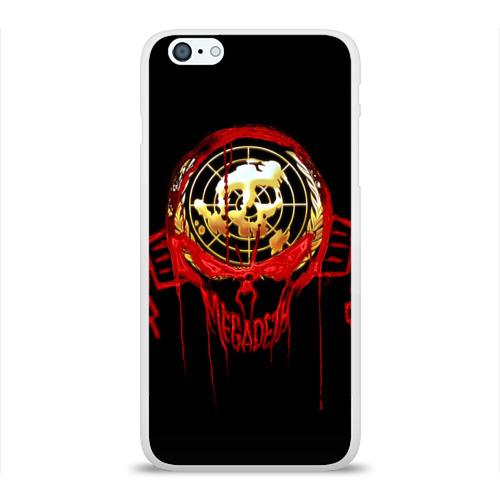 Чехол для Apple iPhone 6Plus/6SPlus силиконовый глянцевый  Фото 01, Megadeth #6