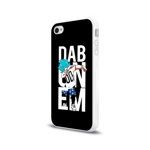 Чехол для Apple iPhone 4/4S силиконовый глянцевый Super God Dab Фото 01