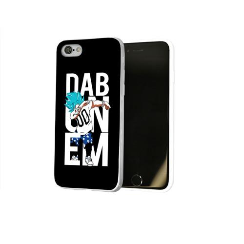 Чехол для Apple iPhone 8 силиконовый глянцевый  Фото 02, Super God Dab