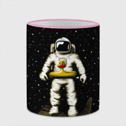 Космонавт с уточкой