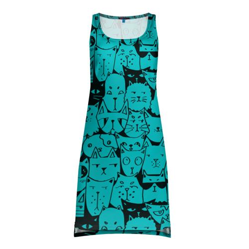 Платье-майка 3D Котейки 4