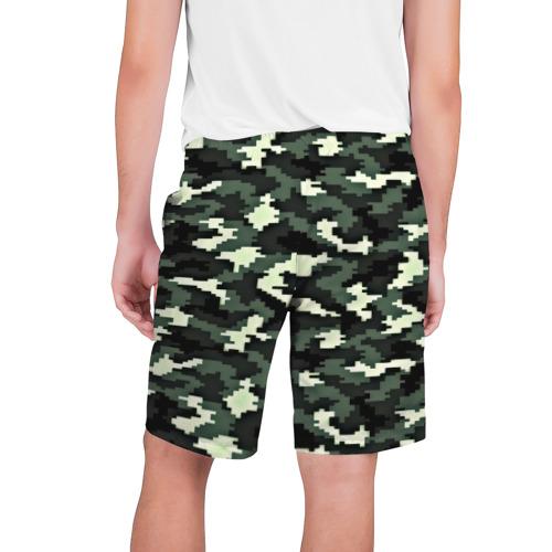 Мужские шорты 3D  Фото 02, Пиксельный камуфляж