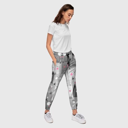 Женские брюки 3D Котейки 2 Фото 01