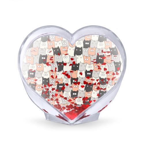 Сувенир Сердце  Фото 02, Котики