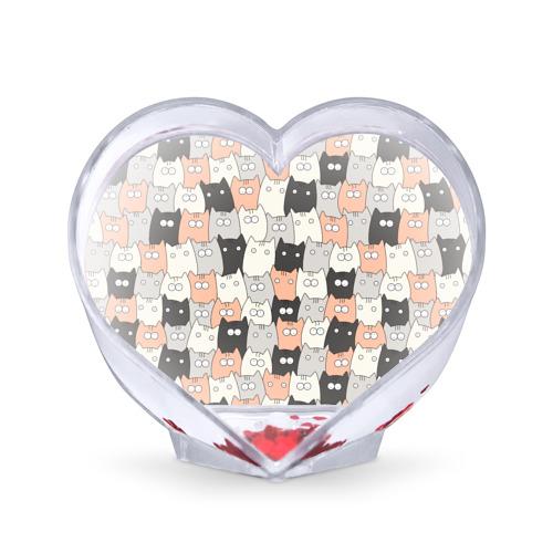 Сувенир Сердце  Фото 01, Котики