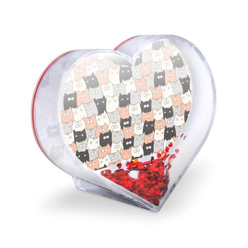 Сувенир Сердце  Фото 03, Котики