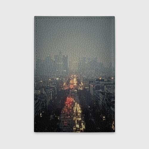 Обложка для автодокументов Ночной город Фото 01