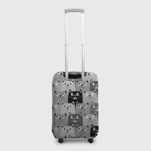 Чехол для чемодана 3D  Фото 02, Котейки
