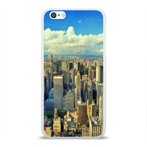 Чехол для Apple iPhone 6Plus/6SPlus силиконовый глянцевый  Фото 01, New York