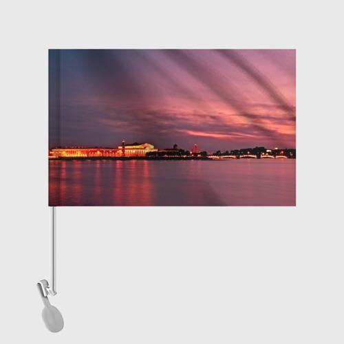 Флаг для автомобиля Санкт-Петербург Фото 01