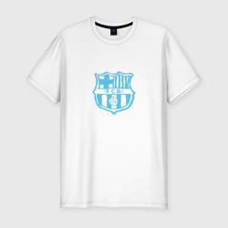 FC Barcelona - Light Blue Paint (Оригинальный стиль,рисунок краской)