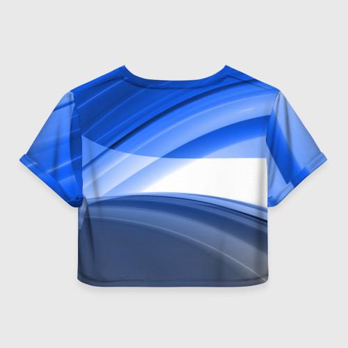 Женская футболка 3D укороченная  Фото 02, Alfa Romeo