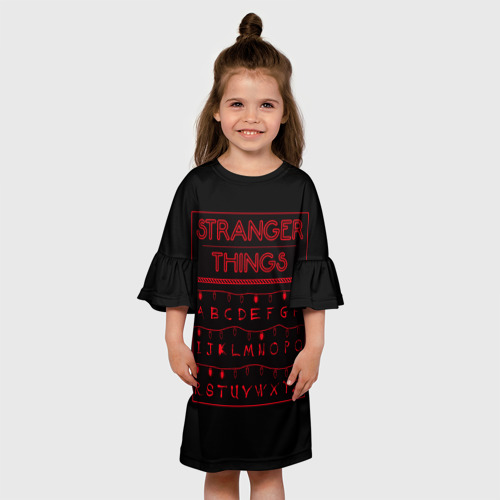 Детское платье 3D  Фото 01, Очень странные дела