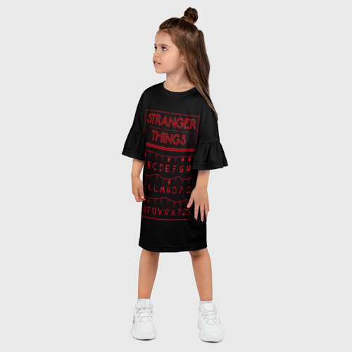 Детское платье 3D  Фото 03, Очень странные дела