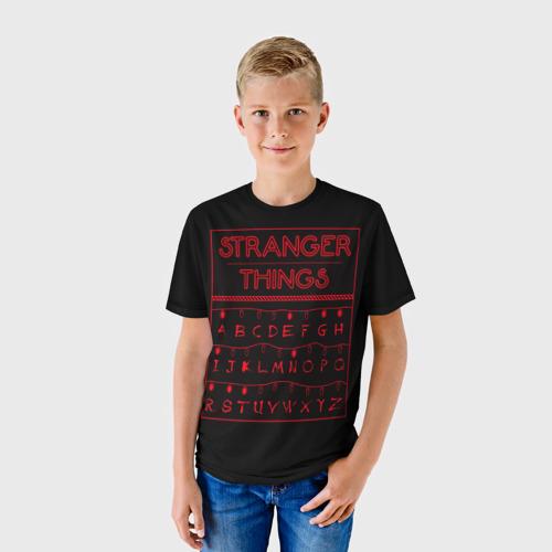 Детская футболка 3D  Фото 01, Очень странные дела