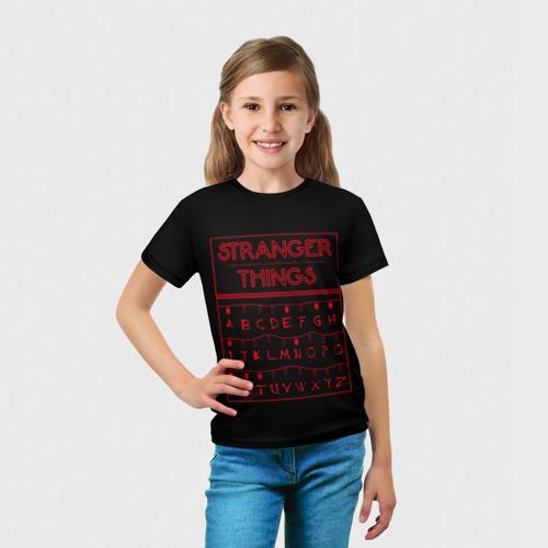 Детская футболка 3D  Фото 03, Очень странные дела