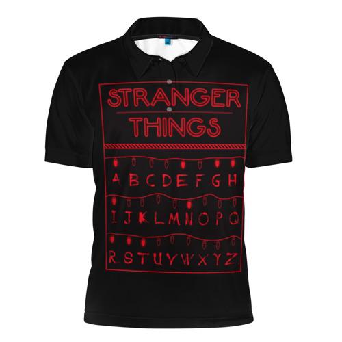 Мужская рубашка поло 3D  Фото 01, Очень странные дела