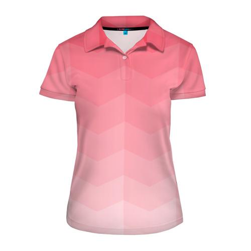 Женская рубашка поло 3D  Фото 01, Игра цветов