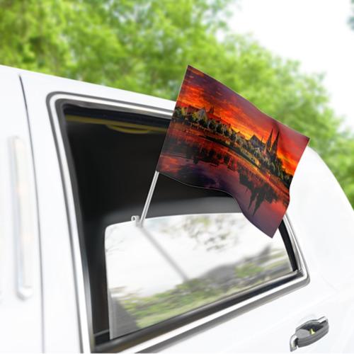 Флаг для автомобиля Германия Фото 01