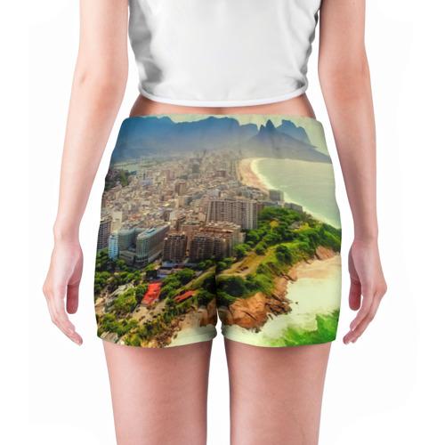 Женские шорты 3D  Фото 04, Рио