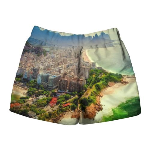 Женские шорты 3D  Фото 02, Рио