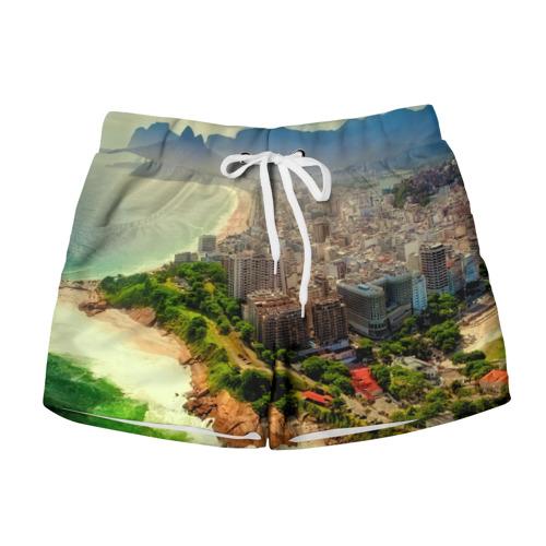 Женские шорты 3D  Фото 01, Рио