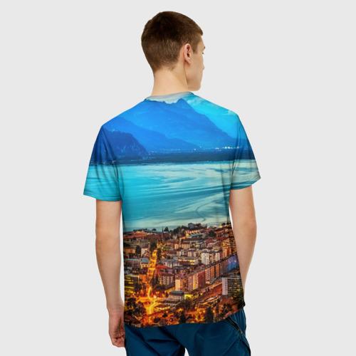 Мужская футболка 3D  Фото 02, Швецария