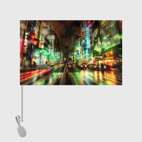 Флаг для автомобиля Токио Фото 01