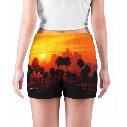 Женские шорты 3D  Фото 04, California