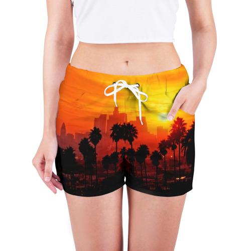 Женские шорты 3D  Фото 03, California