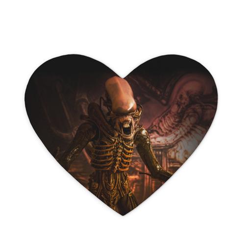 Коврик для мыши сердце  Фото 01, Alien