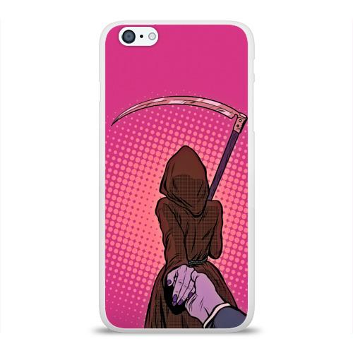 Чехол для Apple iPhone 6Plus/6SPlus силиконовый глянцевый  Фото 01, Follow the girl