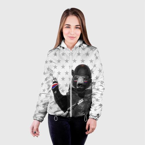 Женская куртка 3D  Фото 03, Вежливые люди 3