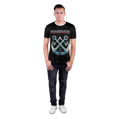 Мужская футболка 3D спортивная  Фото 04, ВМФ 1