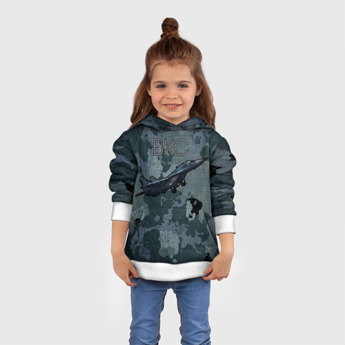 Детская толстовка 3D  Фото 01, Космические войска 2