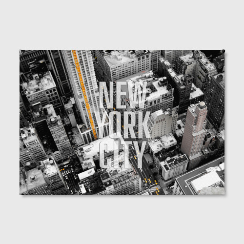 Холст прямоугольный  Фото 02, Улицы Нью-Йорка