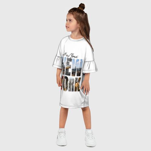 Детское платье 3D  Фото 03, Улицы Нью-Йорка