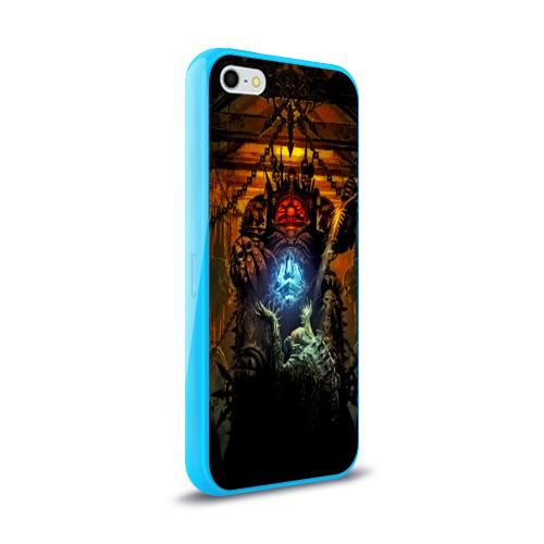 Чехол для Apple iPhone 5/5S силиконовый глянцевый  Фото 02, Warhammer