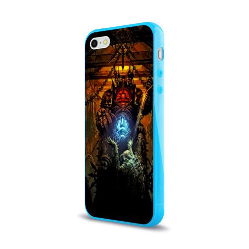 Чехол для Apple iPhone 5/5S силиконовый глянцевый  Фото 03, Warhammer
