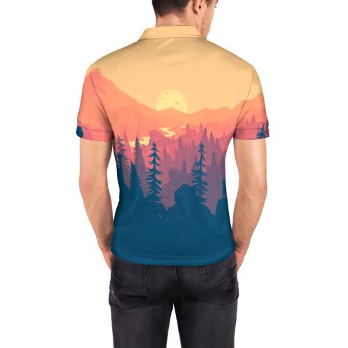 Мужская рубашка поло 3D  Фото 04, Adventure Game