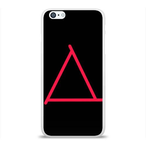 Чехол для Apple iPhone 6Plus/6SPlus силиконовый глянцевый  Фото 01, Треугольник