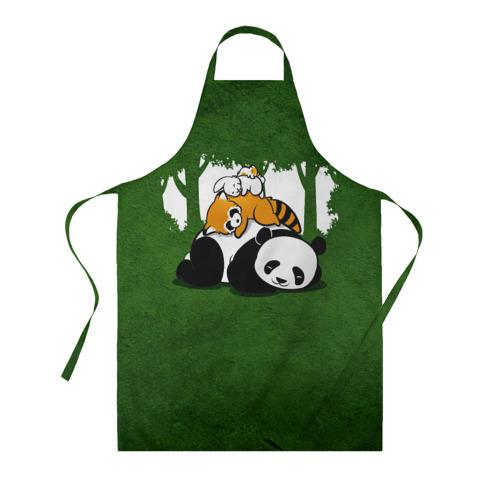 Фартук 3D Милая панда